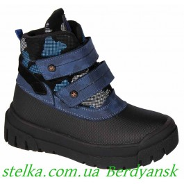 Детские термоботинки для мальчика (зима), обувь Minimen, 6719-1