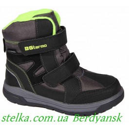 Обувь B&G termo, зимние ботинки для мальчика, 6728-1