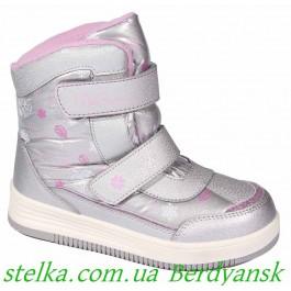 Детские термоботинки на девочку, обувь ТМ B&G termo, 6729-1