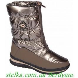 Зимние дутики для девочки, термо обувь Weestep, 6731-1