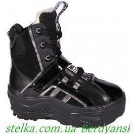 Зимние ботинки buffalo для девушки подростка, ТМ Palaris, 6738-1