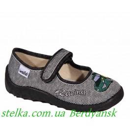 Обувь для садика, текстильные тапочки на мальчика, Waldi 6741-1