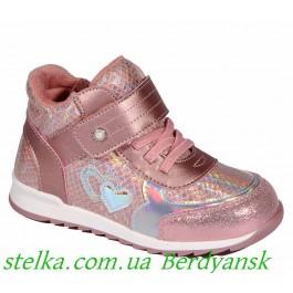 Демисезонные детские ботинки для девочки, обувь Weestep, 6756-1