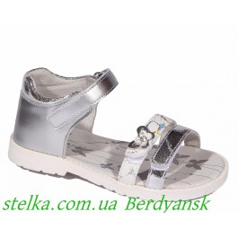 Детские ортопедические босоножки на девочку, обувь Lapsi, 6758-1