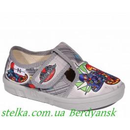 Текстильная обувь для садика на мальчика, ТМ Natur (Waldi), 6767-1