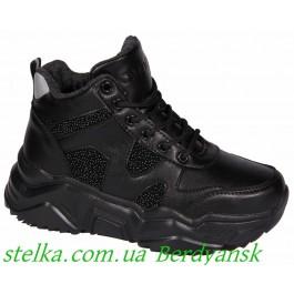 Демисезонные кроссовки для девушки подростка, ТМ Qwest, 6770-1