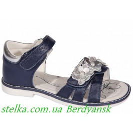 Детские кожаные босоножки для девочки, обувь Clibee, 6833-1