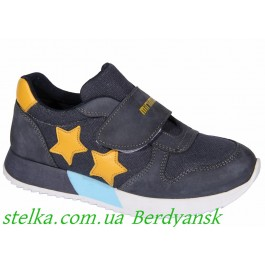 Кожаные кроссовки для малыша мальчика, обувь Minimen, 6843-1