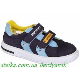 Кожаные кроссовки для мальчика, обувь Minimen, 6845-1
