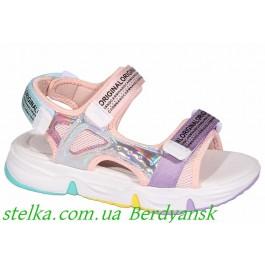 Детские босоножки на высокой подошве, обувь Clibee, 6854-1