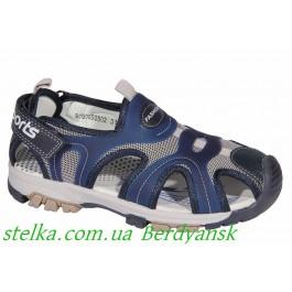 Детские закрытые босоножки для мальчика, обувь Weestep, 6872-1