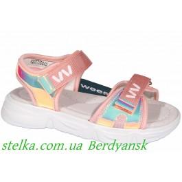 Детские босоножки для девочек, обувь Weestep, 6880-1