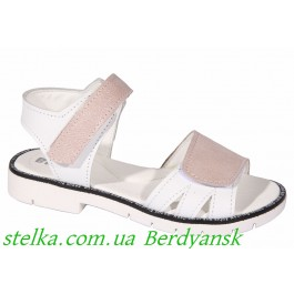 Кожаные босоножки для девочек, обувь ТМ Bravi, 6899-1