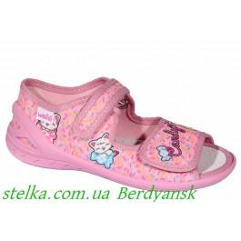 Детские текстильные босоножки для садика, обувь Waldi, 6921-1