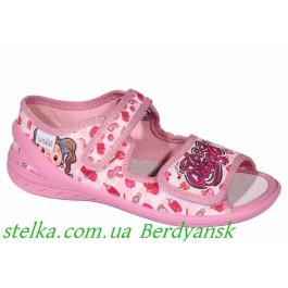 Детские текстильные босоножки для девочек, обувь Waldi, 6922-1