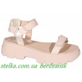 Босоножки для девушки подростка, обувь ТМ EVIE, 6925-1