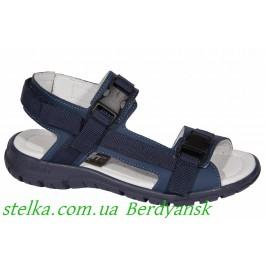 Кожаные сандалии для мальчика, босоножки Minimen, 6957-1
