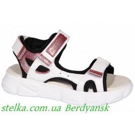 Обувь на девочку подростка, кожаные босоножки Palaris, 6960-1