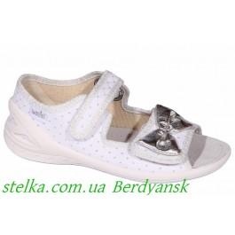 Текстильная обувь для садика девочкам, босоножки Waldi, 6963-1