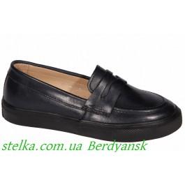 Детские лоферы для мальчика в школу, обувь ТМ Evie, 6977-1