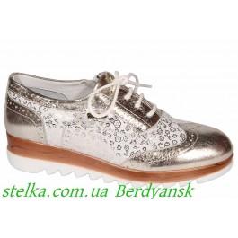 Кожаные туфли для девочки, ТМ Minimen (Turkey), 6979-1