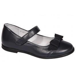 Кожаные школьные туфли для девочек, ТМ Мальви, 6991-1