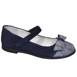Замшевые туфли для девочки в школу, обувь ТМ Мальви, 6992-1