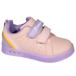 Детские мигающие кроссовки для девочек, обувь Promax, 6989-1