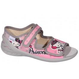 Текстильная обувь для садика, босоножки для девочек ТМ Waldi, 6998-1