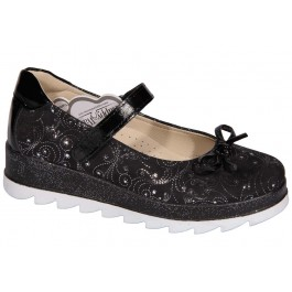 Туфли на высокой подошве для девочек в школу, ТМ Happy Walk, 7009-1