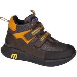 Демисезонные детские ботинки для мальчика, обувь Минимен (Турция), 7016-1