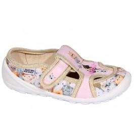 Детская текстильная обувь в садик девочке, Ready Steady (Ukraine), 7024-1