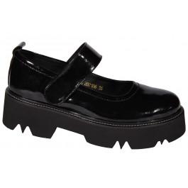 Туфли для школы девочке подростку, обувь Evie, 7026-1