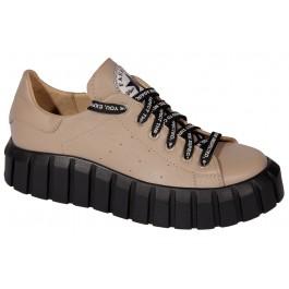 Подростковая обувь для девочки, кожаные кеды N-Style, 7036-1