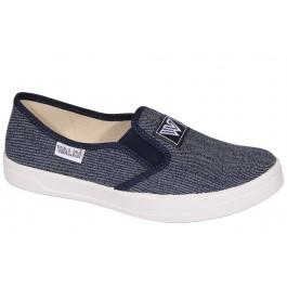 Детские слипоны для мальчика, текстильная обувь Waldi, 7045-1