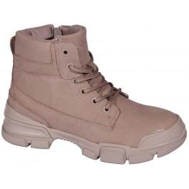Демисезонные ботинки для девочки подростка, ТМ Qwest, 7054-1