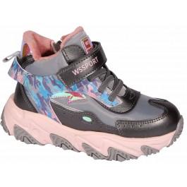 Детские хайтопы для девочки, осенняя обувь Weestep, 7057-1