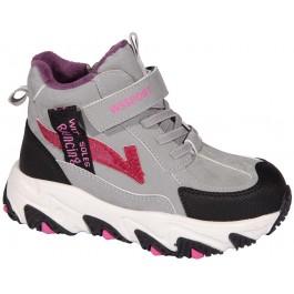 Осенние хайтопы для девочки, детская обувь Weestep, 7058-1