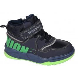 Детские хайтопы на мальчика, демисезонные ботинки Weestep, 7061-1