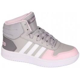 Подростковые кроссовки для девочек, Adidas Hoops Mid 2.0 K (original) 7068-1
