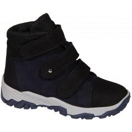 Демисезонная обувь для мальчика подростка, кожаные ботинки Мальви, 7070-1