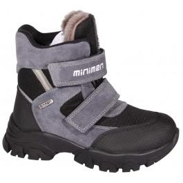 Детские ортопедические ботинки для мальчика, зимняя обувь Minimen, 7096-1