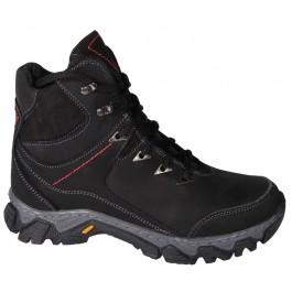 Зимние ботинки для мальчика подростка, кожаная обувь Bravi, 7122-1