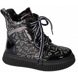 Кожаные демисезонные ботинки для девочек, ТМ Moda.Sen (Turkey), 7115-1