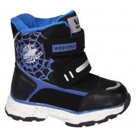 Детская зимняя обувь для мальчика, термоботинки Weestep, 7128-1