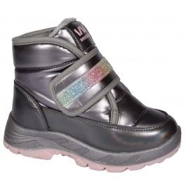 Детские зимние ботинки Weestep, термодутики для девочки, 7127-1