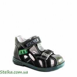 Детские ортопедические босоножки для мальчика, Minimen обувь Распродажа, 4916-1