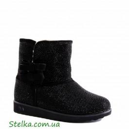 Подростковые УГГи для девушки, Кожаная обувь Foletti, 5281-1