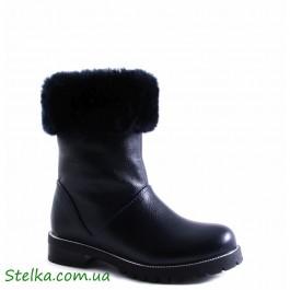 """Зимние сапожки для девочки подростка """"Alexandro"""""""